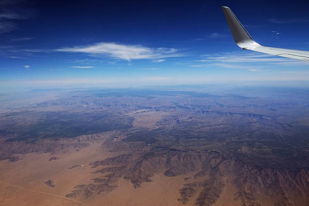grand canyon from plane